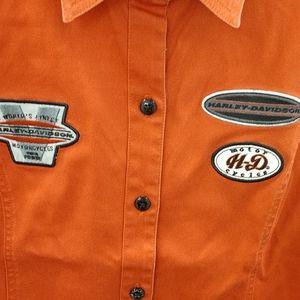 Harley-Davidson Tops - Harley Davidson Women's Button Down Shirt